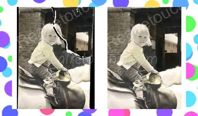 Repair Cracked Photos